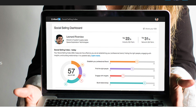LinkedIn SSI metric - Closely Automation Tool